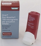 QVAR REDIHALER (QVAR HFA EASY-BREATHE BRAND FROM UK) 40MCG (EQUIV. 50MCG) 3 X 200 DOSES